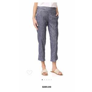 Theory Thorina Linen Pants